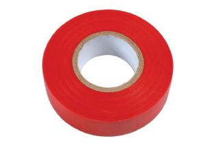 Connect 36893 Red PVC Insulation Tape 19mm x 20m Pk 1